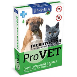 ProVet ИнсектоCтоп капли от блох и клещей для котят и щенков