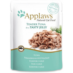 APPLAWS CAT POUCH TUNA WHOLEMEAT IN JELLY, ПАУЧИ ДЛЯ КОШЕК «КУЧОЧКИ ТУНЦА В ЖЕЛЕ»