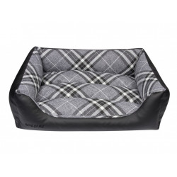Amiplay Лежак-cофа Kent ZipClean 4 in 1 XL 92x74x24 см