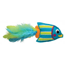 Kong tropics CT413 Tropics Fish Toy Blue