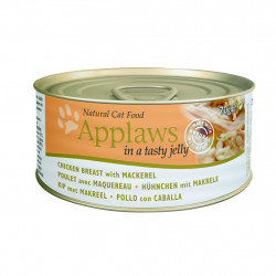 Applaws cat tin Chicken with Mackerel in natural jelly