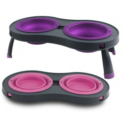 Dexas Double Elevated Feeder