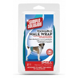 Simple Solution Washable Wrap For Male Dogs