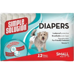 Simple Solution Disposable Diapers X-Small