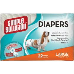 Simple Solution Disposable Diapers Large
