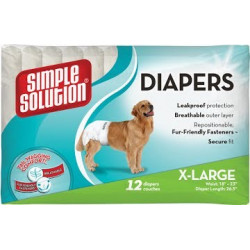 Simple Solution Disposable Diapers X-Large