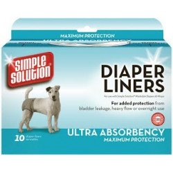 Simple Solution Disposable Diaper Liner-Heavy Flow Ultra