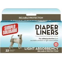 Simple Solution Disposable Diaper Liners - Flow Light