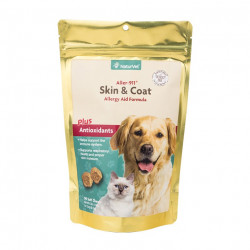 NaturVet Aller-911 Skin & Coat Allergy Soft Chews